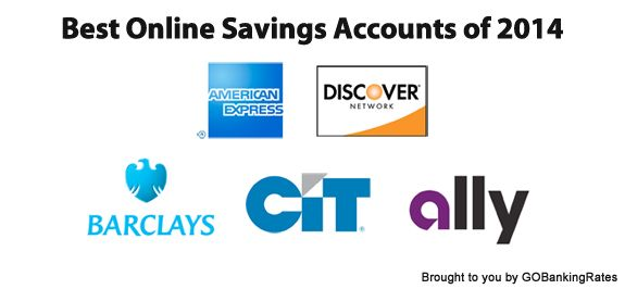 5 best online savings accounts for 2014