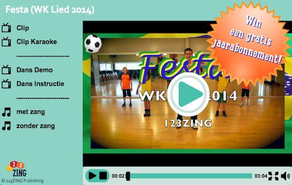 Festa WK lied 2014