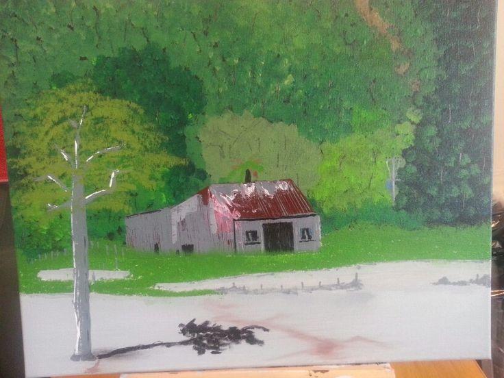 NZ shack