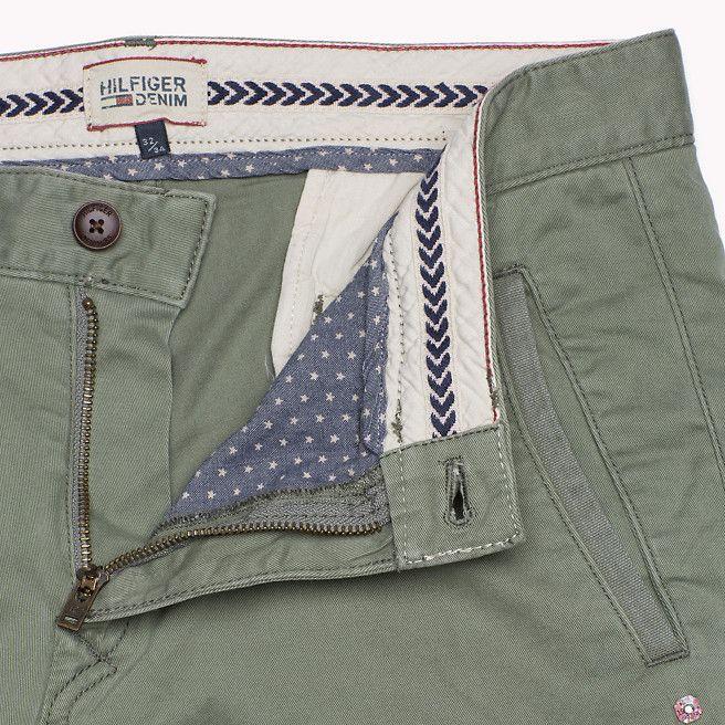 Hilfiger Denim Ferry Slim Fit Chino - agave green-pt (Green) - Hilfiger Denim Trousers - detail image 3