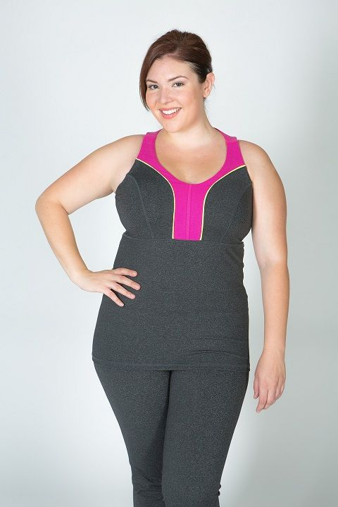 plus size womens work out clothes | ... what kind of plus size exercise clothes for women to wear next image