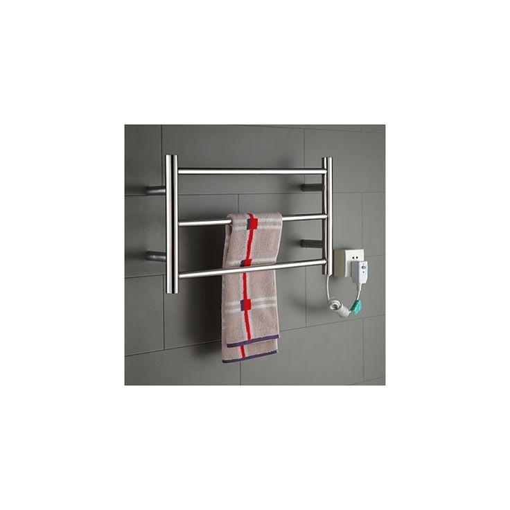 壁掛けタオルウォーマー タオルハンガー+簡易乾燥 ステンレス鋼 30W