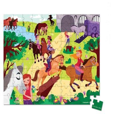 Janod Puzzle-Horse Riding School