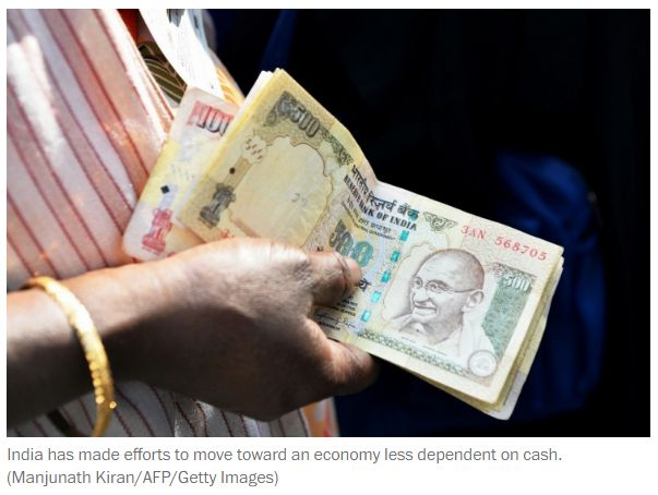 "What the U.S. can learn from India's move toward a cashless society ""India's digital economy is moving ahead of the U.S. due to simple innovations and grunt work. Get Narendra Modi's & BJP's latest news and updates with - http://nm4.in/dnldapp http://www.narendramodi.in/downloadapp. Download Now."""