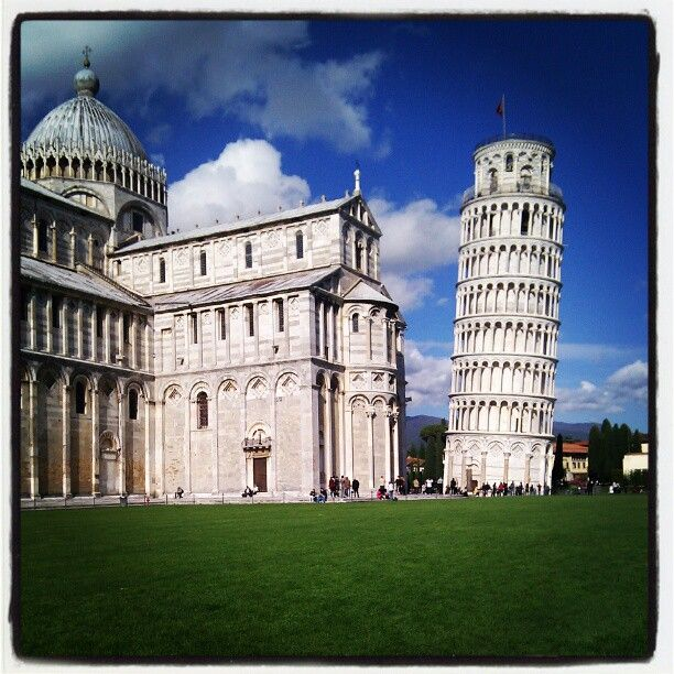 Piazza del Duomo in Pisa, Toscana