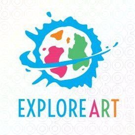 Explore Art logo