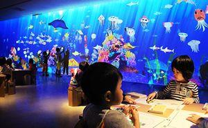 お絵かき水族館