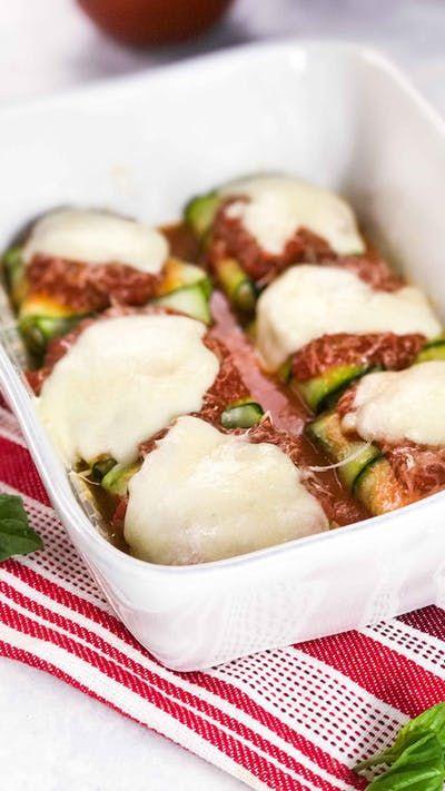 Zucchini Ravioli - Keep all that yummy ravioli flavor in a low-carb, veggie-filled version.
