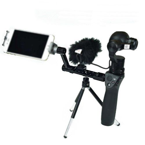 Gigibon Gigibon DJI OSMO Upgraded Accessory Kits Straight Extension ArmExtended Universal Mount for Osmo Handheld 4K Camera and 3Axis Gimbal Black *** Want additional info? Click on the image. This is Amazon affiliate link.