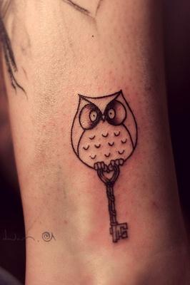 Owl Tattoo @Jonathan London Fabulous Mama
