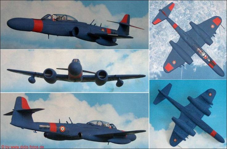 "Armstrong Whitworth ""Meteor"" NF.Mk.14 Jäger (Matchbox 129) 1:72"