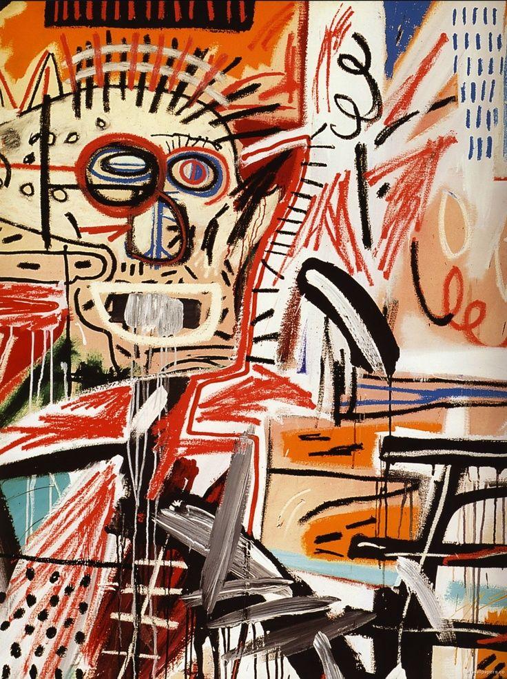 JEAN-MICHEL BASQUIAT http://www.widewalls.ch/artist/jean-michel-basquiat/ #contemporary #art #neo-expressionism
