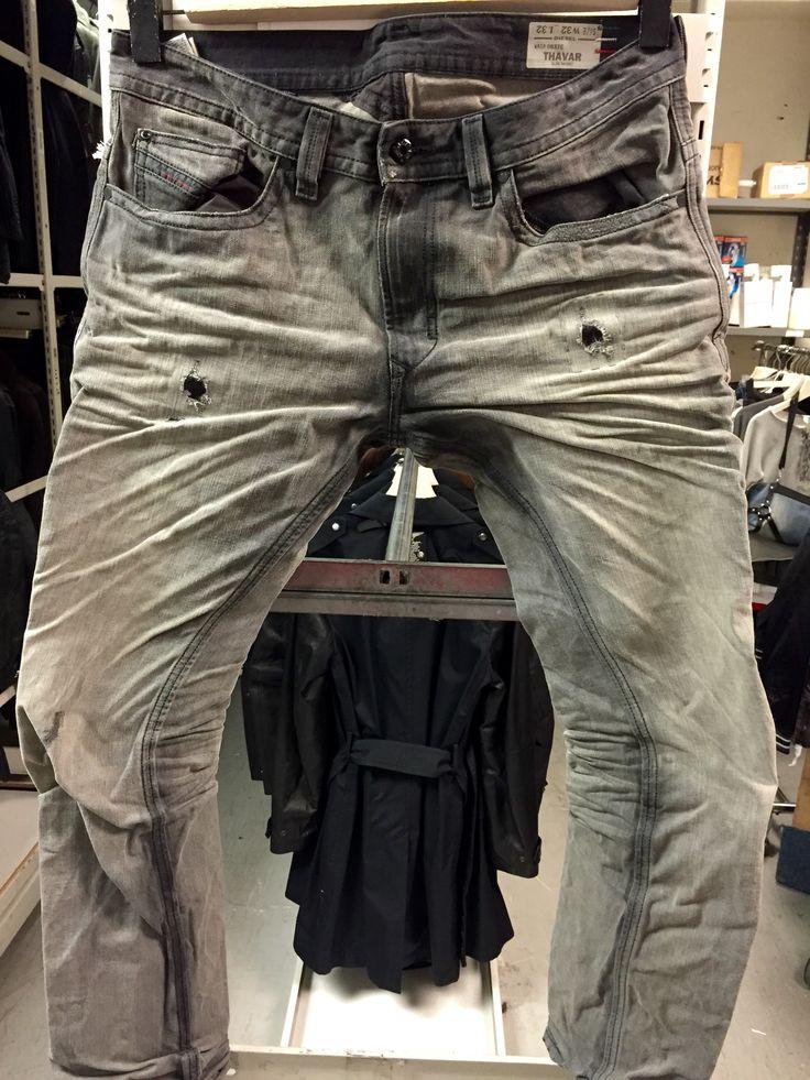 Mens Low Rise Boot Cut Jeans
