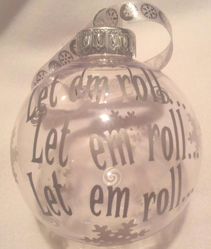Christmas Bunco Party Ideas Part - 45: Let Em Roll Bunco Christmas Gift Holiday Ornament. $7.00, Via Etsy.