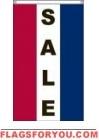 Sale Vertical Message Banner, High Wind US Made