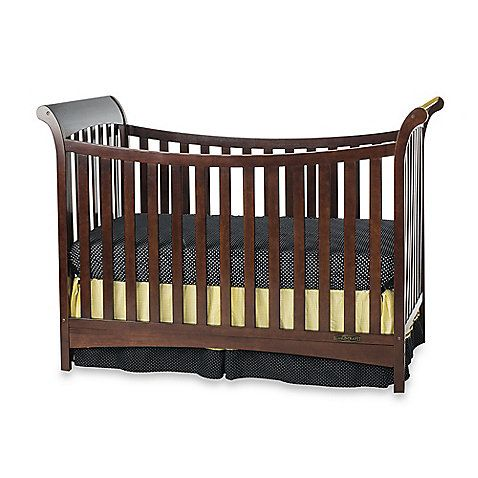 The Child Craft™ Coventry 3-in-1 Convertible Sleigh Crib has graceful contoured lines that make it an elegant choice for your nursery. Plus it grows with your child as it converts into 3 different kinds of beds.