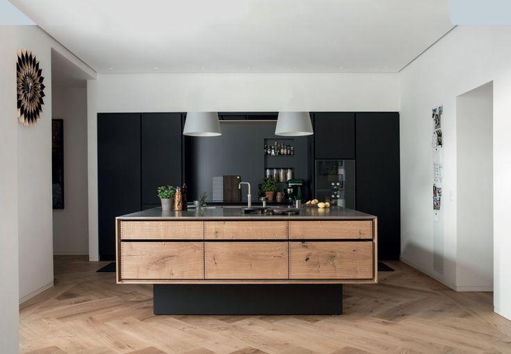 Køkken af Dinesen-planker