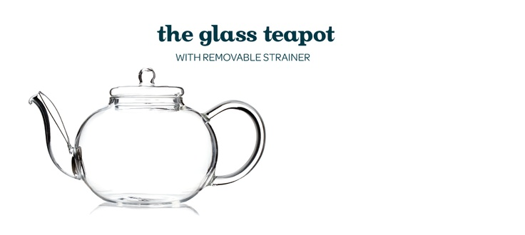 Blooming Teapot with S/S Infuser by DavidsTea