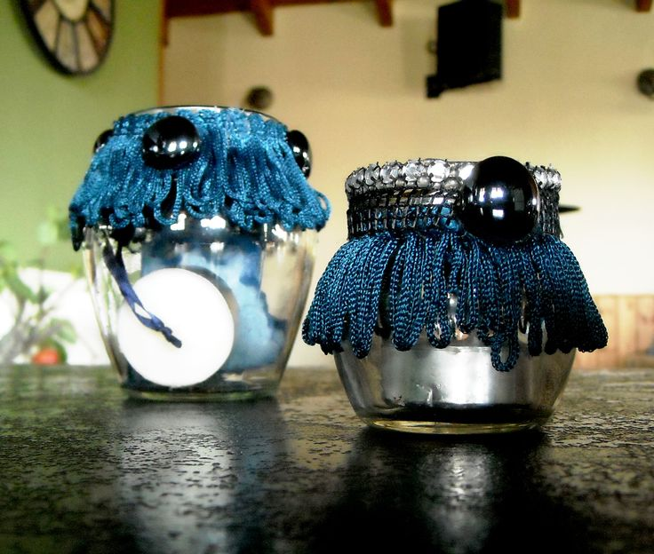 Candle holders...