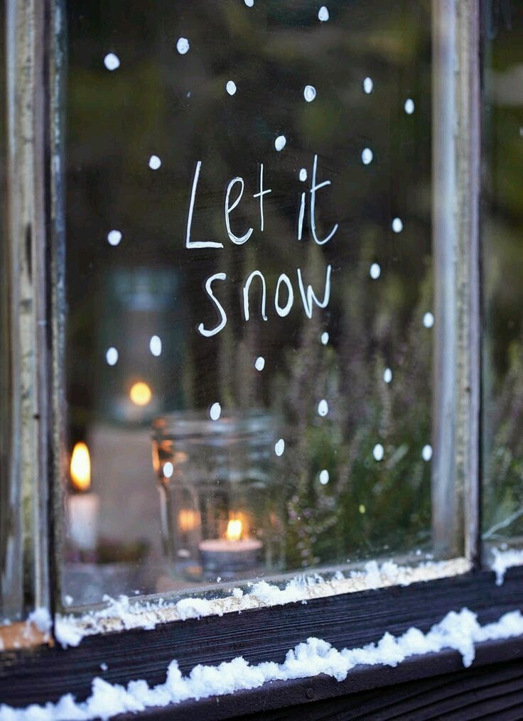 Let it #snow. #Winter