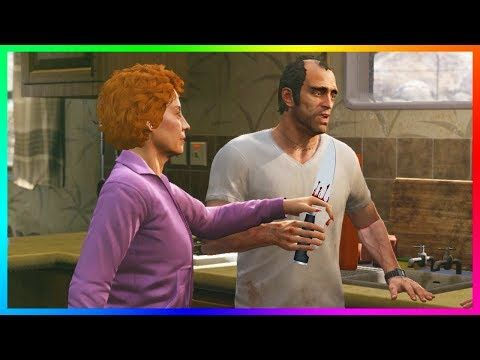 awesome GTA 5 - Did Trevor Philips Kill Patricia Madrazo? - The Dark & Creepy Secrets Of Trevor's Love Life!