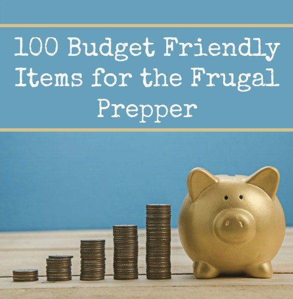 One of the myths of prepping is that it is expensive.  Sure, there are many items that are pricey but there are a whole lot more that are are budget-friendly.  Are there some of your favorites that are missing from this list?  100 Budget Friendly Items for the Frugal Prepper | Backdoor Survival