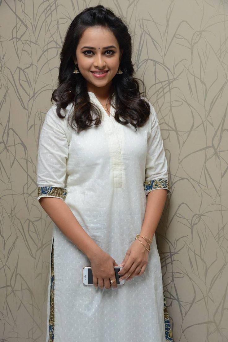 Indian Model Sri Divya In White Dress At Movie Success Meet   Actresses, Actress photos, Indian model