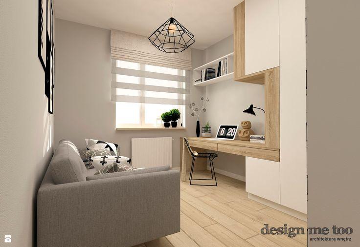 Gabinet styl Skandynawski - zdjęcie od design me too - Gabinet - Styl…