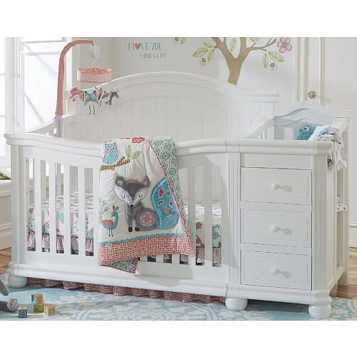 vista elite crib and changer white crib with changing table nursery