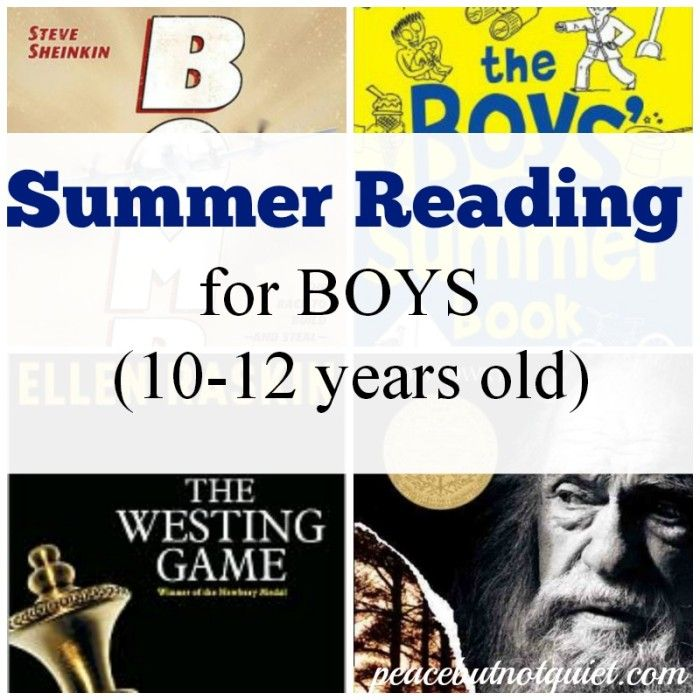 Great books for preteen #boys to #read -- full of adventure, mystery, and suspense!