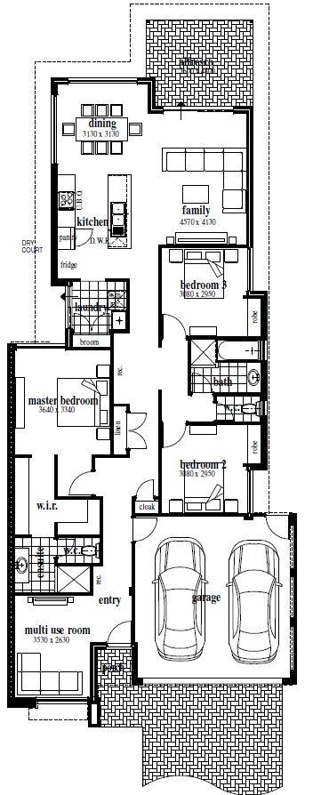 The Jetty- Floor Plan