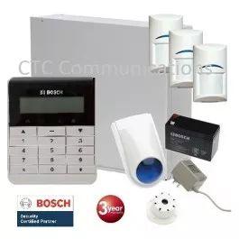 Bosch Solution 3000 Alarm System with 3 x Gen 2 TriTech Detectors+ Text Code pad…