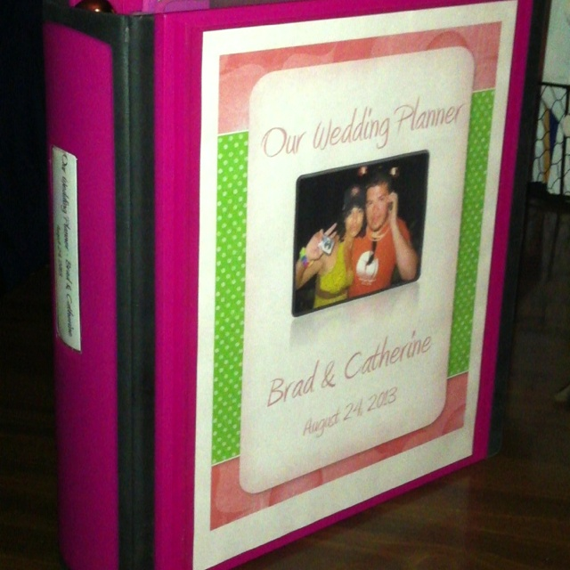 DIY Wedding Plannerdislike The Planners For Sale At Your Local Bookstore Make Own Planner And Include All Of Folders Sleeves Dividers