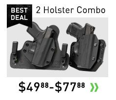 Concealed Carry Holsters | Made in USA | NRA Endorsed | Voted #1 Concealed Carry Gun Holster | Starting @ $29.88 | The best IWB Holsters and OWB Gun Holsters 2016