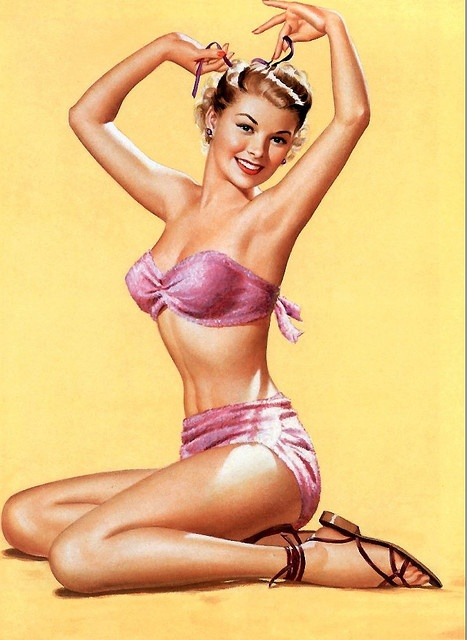 Pin-up by Pearl Frush