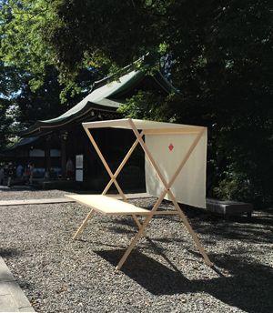 ●Koizumi Studio | 氷川神社 折畳式屋台