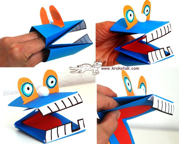 how to make fun hand puppets
