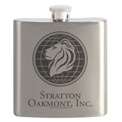 Stratton Oakmont Wolf of Wall Flask | GoldLabel.com | The Wolf of Wall Street Official Shop