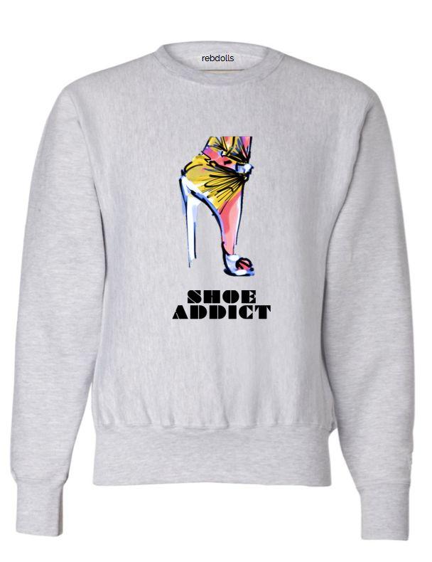 Bad Beyhavior Shoe Addict Sweatshirt - Shop Women's Missy & Plus Size Clothing