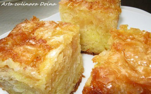 Retete Culinare - Placinta cu iaurt