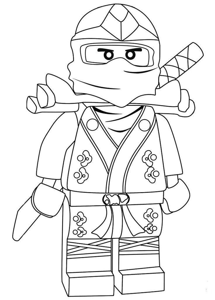 Ninjago Coloring Pages Lloyd