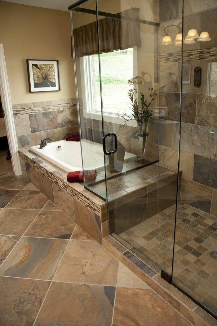 17 best ideas about faience salle de bain on pinterest for Salle de bain beige et gris
