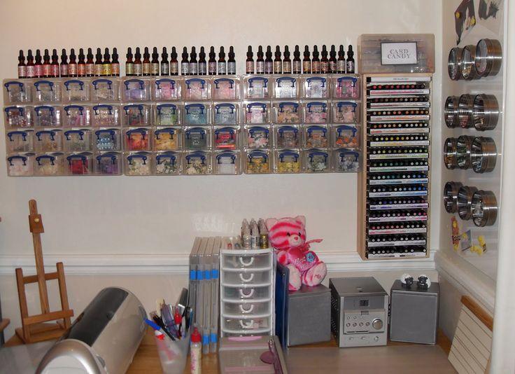 Exceptional Craft Room Storage Ideas | Paulaholifieldcrafts: My Craft Room   UPDATED!