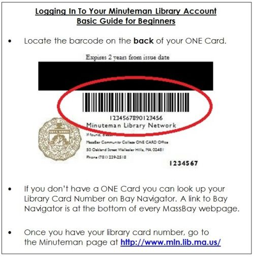 Best Library Card Information Massbaylibfram Images On