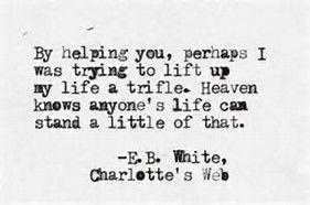 e.b. white quotes charlottes web - Bing Images