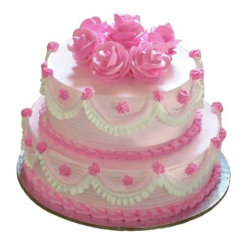 Designer 2 Tier Wedding Cake - 3 Kg Rs. 3195 See more at http://www.indiangiftscenter.com/wedding-cakes.html
