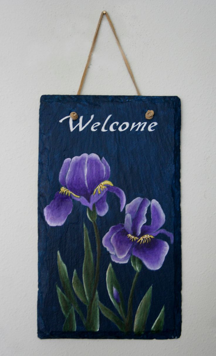 119 best images to paint on slate images on pinterest | welcome