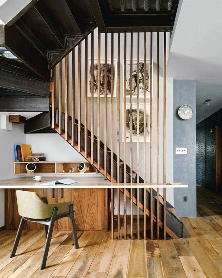 Stylish Understairs Study: Home, Home Study Design, Office