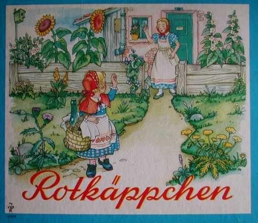 Bilderbücher 60iger - Rotkäppchen