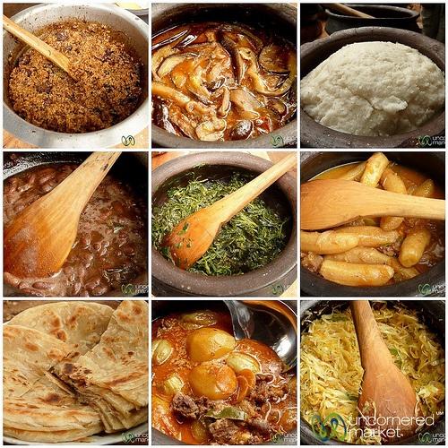 Tanzanian Food Mosaic - Mto wa Mbu, Tanzania #travel #viator http://www.viator.com/